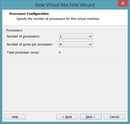 Processors Configuration