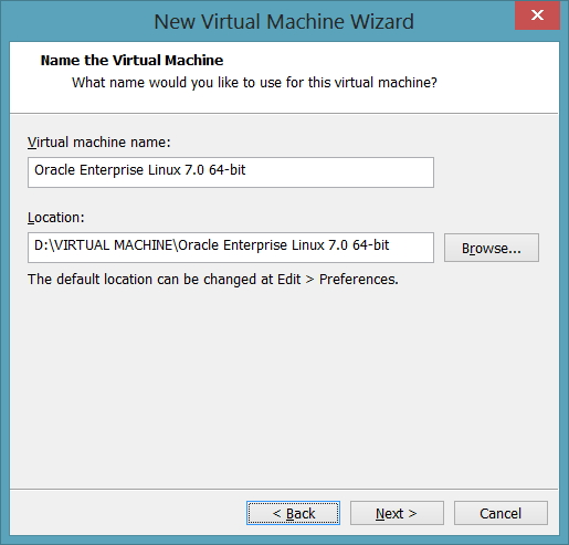 Name the Virtual Machine
